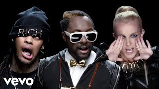 Will.i.am & Britney Spears & Diddy & Hit-Boy & Waka Flocka Flame & Lil Wayne - Scream & Shout (Remix)