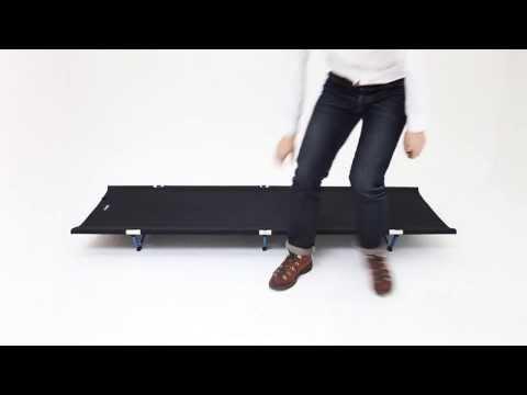 Смотреть видео Кровать Helinox Cot One