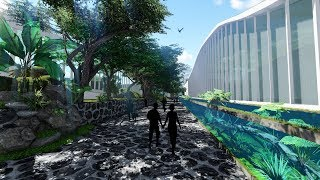 Lumion 6 Animation (Final Project) Freshwater Aquarium Park