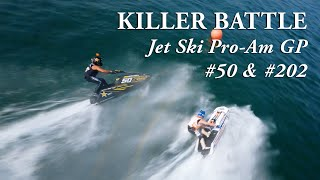 World Class Jet Ski Battle with Intense FPV Drone Footage!