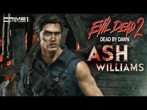 Museum Masterline Evil Dead 2 Dead By Dawn Film Ash Williams Ex Version By Prime 1 Studio