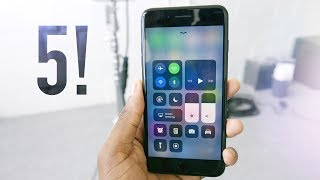 Top 5 iOS 11 Features!