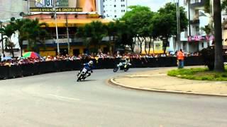 preview picture of video 'validas motociclismo de bucaramanga 150 novatos marzo 2014'