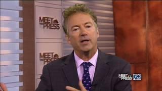 Rand Paul On The NFL Protests | Kneeling National Anthem