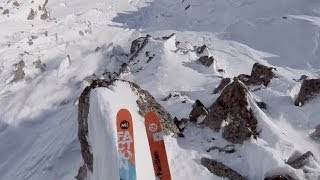 GoPro: Rocky Cliff Huck In The French Alps