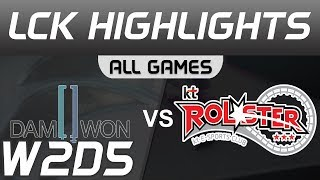 DWG vs KT ALL GAMES Highlights LCK Spring 2020 DAMWON Gaming vs KT Rolster LCK Highlights 2020 by On