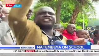 Parents and Pupils hold demonstrations over alleged Devil Worshipping at Jamhuri Primary, Nakuru