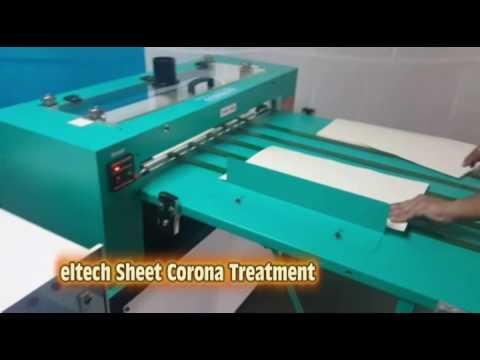 Sheet Corona Treater