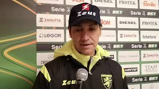 Intervista a Mister Nesta dopo Vicenza-Frosinone 0-0