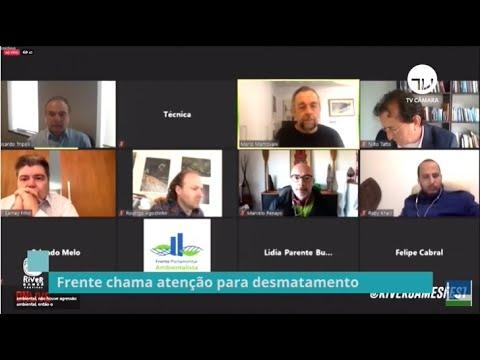 Frente ambientalista debate a situação atual do País – 04/06/20