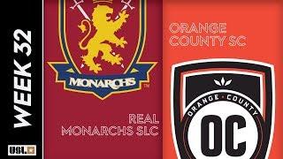 Real Monarchs SLC vs. Orange County SC: October 9, 2019