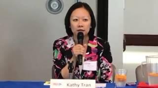 Tilly Blanding, Kathy Tran in Dem Candidate Forum