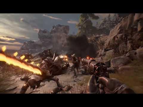 Появилось новое видео из игры Witchfire