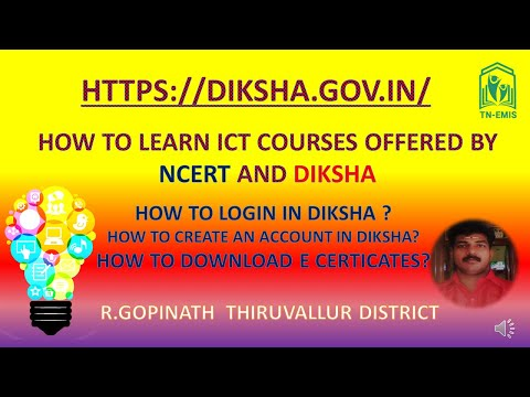 ICT COURSES IN DIKSHA WITH CERTIFICATION BY R GOPINATH ...
