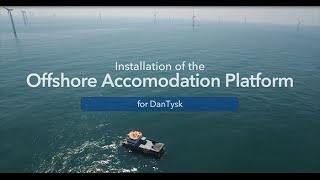 Accomodation Platform For DanTysk And Sandbank Offshore Wind Farms - Vattenfall