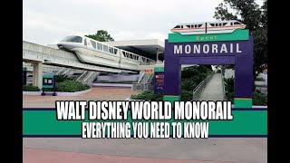 Walt Disney World Monorail Magic Kingdom - Epcot - Everything You Need To Know