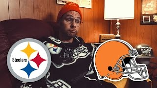 Dad Reacts to Steelers vs Browns (Week 11)