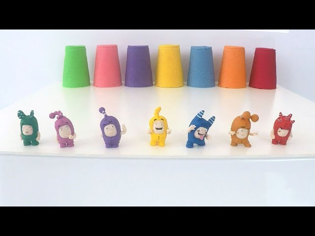 Learn Colors with Oddbods Toys For Kids - Oddbods Toys