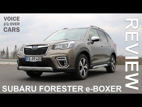 2020 Subaru Forester e-Boxer Fahrbericht Test Review Kaufberatung Fakten Kofferraum Innenraum Kritik