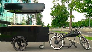 Food Cart & Food Bike By BizzOnWheels