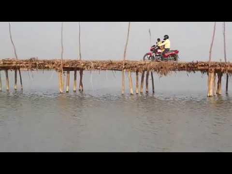 मथुरा घाट कटरा  से मथुरा जाने का पुल