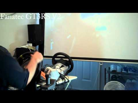 high end racing wheel comparison logitech g27 vs fanatec. Black Bedroom Furniture Sets. Home Design Ideas