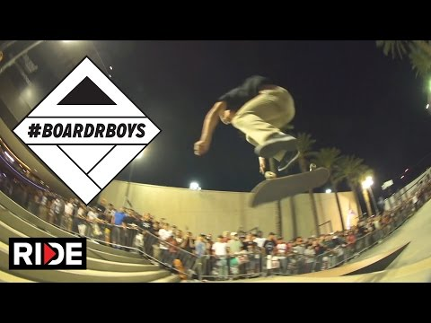 Chris Joslin Stomps the $20k Double Set at Zappos in Las Vegas - #BoardrBoys
