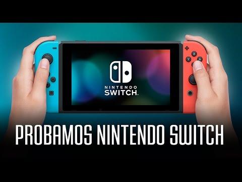Nintendo Switch: Probamos la consola y sus juegos