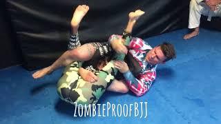 Zabit Magomedsharipov's Crazy UFC 228 Kneebar - ZombieProofBJJ (BreakDown)