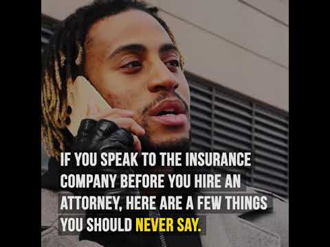 What You Should NEVER Say to the Insurance Company After An Accident