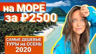 Самые дешевые туры на осень 2020. Улететь на море за 2500! турагент