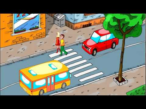 Как переходить дорогу Пешеходный переход ПДД Правила дор движения для детей [Малыш и дорога ТВ]
