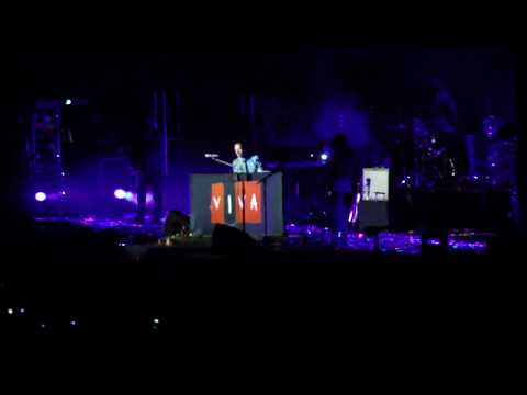 coldplay - the scientist live in sao paulo