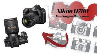 Nikon D780   Neue Spiegelreflex-Kamera