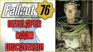 Fallout 76 Secret Developer Room Has A HUMAN NPC In It - What This Actually Means!