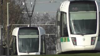preview picture of video 'Tramway T3a de Paris - Boulevard Massena'