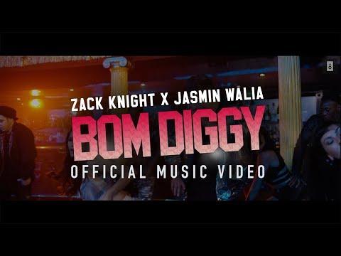 Zack Knight Jasmin Walia Bom Diggy
