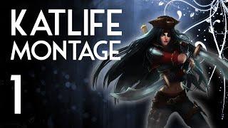 ☾Katlife☽ High Elo Katarina Montage 1