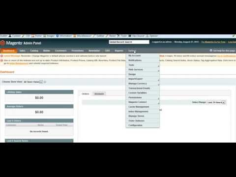 Solution to fix magento extension configuration page 404 error.