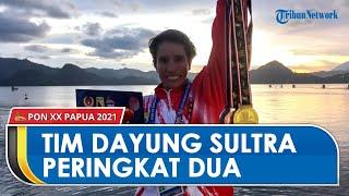 Tim Dayung Sulawesi Tenggara Finis di Peringkat Kedua: Lima Emas, Empat Perak, dan Tiga Perunggu