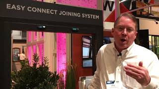 Andersen Windows' Easy Connect Joining System Showcased at IBS 2019