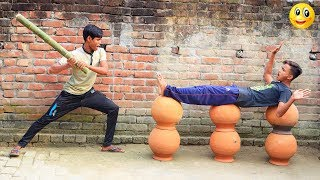 Indian New funny Video😄-😅Hindi Comedy Videos 2019-Episode-80--Indian Fun || ME Tv