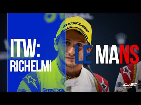 2019 24 Hours of Le Mans: Interview with Stéphane Richelmi at Le Pesage