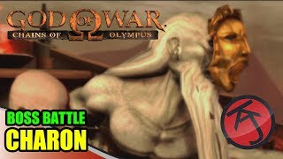God Of War: Chains Of Olympus - BOSS BATTLE: KRATOS VS CHARON