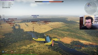 WAR THUNDER (PC, Steam): Aviones De Guerra || Gameplay En Español HD Online