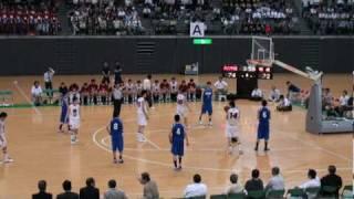 平成22年度宮城県高校総体バスケットボール男子決勝part4