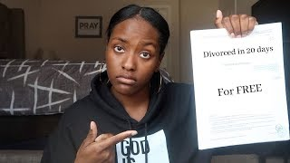 HOW I GOT DIVORCED IN 20 DAYS | FREE DIVORCE | I WAS MY OWN LAWYER FOR MY DIVORCE