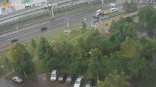 ДТП около развязки на пересечении Дзержинского и Новорязанского шоссе, 13.06.2017