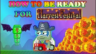 HOW TO BE READY FOR HARVEST FESTIVAL | GROWTOPIA