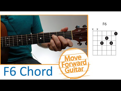 Guitar Chords for Beginners - F6